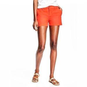 Beautiful orange shorts by Express, like new
